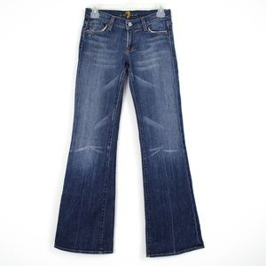 "7 For All Mankind ""Flare Jeans Womens 26 AA"